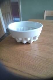 Vintage china jelly mould