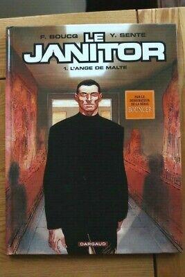 LE JANITOR #1 L'Ange de Malte - Sente Boucq 978-2871295662 FRENCH Hardback