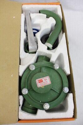 Nos New Teel Polypropylene 8 Gpm Hand Rotary Drum Pump Model 1n417