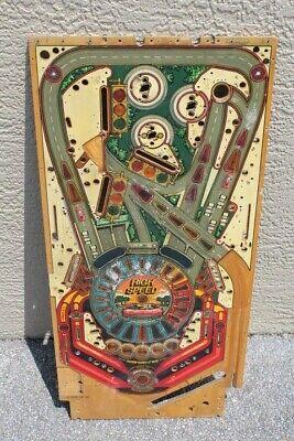 William's HIGH SPEED PINBALL MACHINE PLAYFIELD - USED