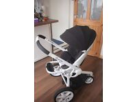 Quinny Modd pushchair - Black & White - Very Good Condition