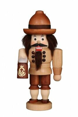 Christian Ulbricht Natural (Christian Ulbricht Natural Wood Bavarian Mini German Nutcracker - New for 2019 )