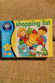 Shopping list puzzle compleat no missing pieces