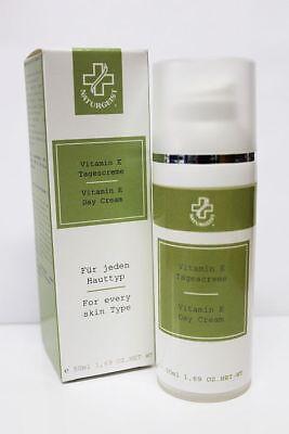 (51,00€/100ml) Hagina Vitamin E Tagescreme 50 ml Gesichtscreme für reife Haut
