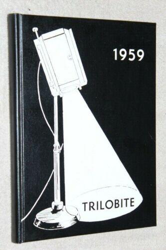 1959 Lebanon High School Yearbook Annual Lebanon Ohio OH - Trilobite