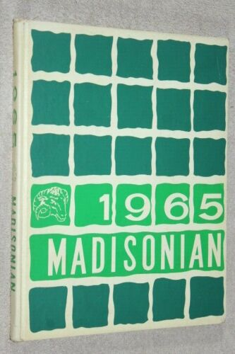 1965 Madison High School Yearbook Annual Mansfield Ohio OH - Madisonian