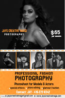 Professional Fashion/ Head shot Photography $50 Special Offer!!!