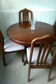 Table 4chairs