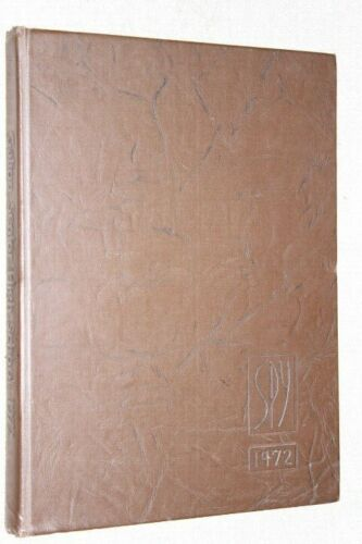 1972 Galion High School Yearbook Annual Galion Ohio OH - Spy