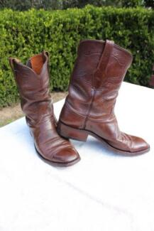 Custom Made Western Style Boots Kurrajong Hawkesbury Area Preview