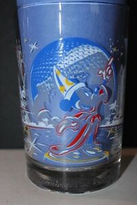 Walt-Disney-World-25-Years-of-Magic-McDonald-039-s-Drinking-Glasses-Sorcerer-Mickey