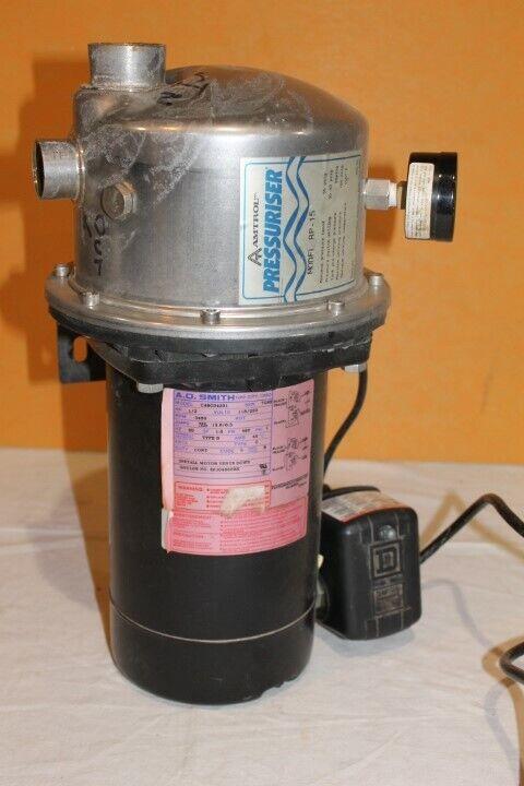 Amtrol Pressuriser Model RP-15