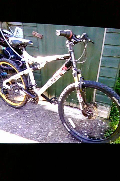 "20"" duel suspension bike"