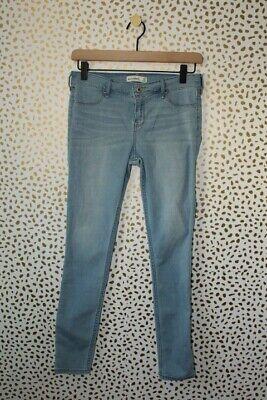 Abercrombie Kids Light Wash Super Skinny Jeans Size 16 Ankle Length