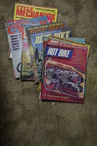 Vintage Motorcycle Magazines 1972-1975