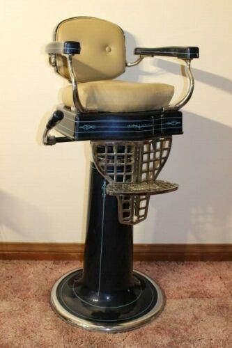 Antique Paidar Childs barber Chair