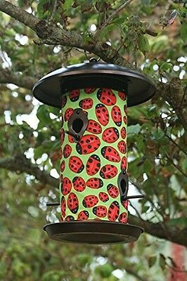 Ladybug Hanging Art Bird Feeder - Toland - SALE ~ SAVE 50%!!