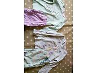 2 pairs of Tu pyjamas aged 2-3 years with long sleeves and trousers