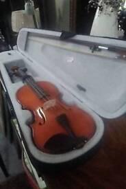 Violin. & carry case