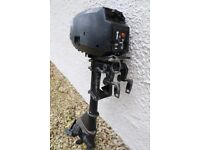 Mercury 2.2 Two stroke outboard. Used. Not working. Useful for spare parts.