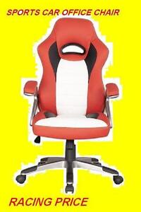 RACECAR -STYLE OFFICE CHAIR RED BLACK AND YELLOW $149.99 ONLY Oakville / Halton Region Toronto (GTA) image 3