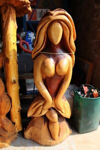 Online auction of wooden chainsaw carvings & tools London Ontario image 2
