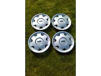 Set of 4 FORD wheel trims please phone 07432779922 if interested