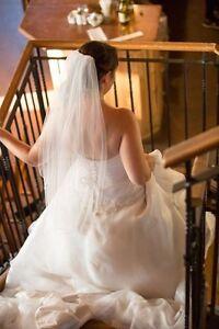 Robe de mariée Aliciar ligne A (12 ans) + crinoline 8 couches