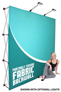 Large Tradeshow Pop up Graphic TENSION Display SEE VIDEO