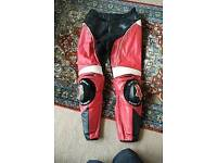 """Alpinestars track trousers 32"""" motorcycle leather trousers"""