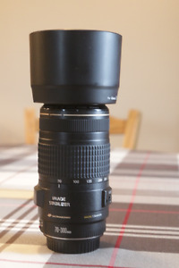 Objectif canon 70 300 is 4-5.6