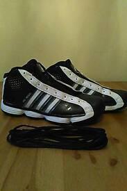 Adidas Pro Model Basketball shoes, UK size 10.5