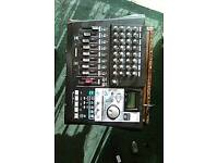 Tascam 8 track recorder