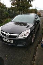 For sale Black Vauxhall Vectra Deisel - long MOT - great purchase for the money.