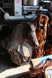 Online auction of wooden chainsaw carvings & tools London Ontario image 1
