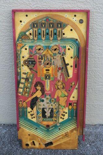 BALLY PLAYBOY PINBALL MACHINE PLAYFIELD - USED
