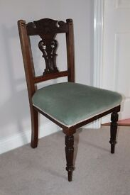 Edwardian antique chairs