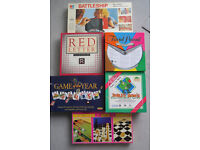 Box of 6 Family Board Games