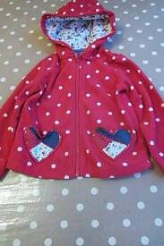 Girls 2-3 year old fleece cardigan by Tu in good used condition