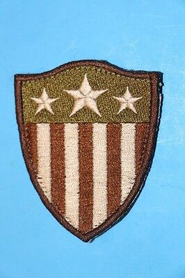 Flag Shield Multicam Embroidered Patch Military Morale