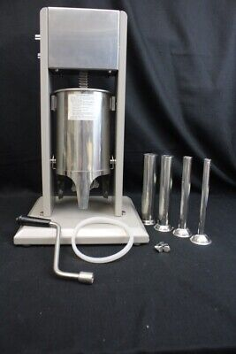 New Excalibur Dehydrator 21 Stainless Steel Vertical Sausage Stuffer Mint 3