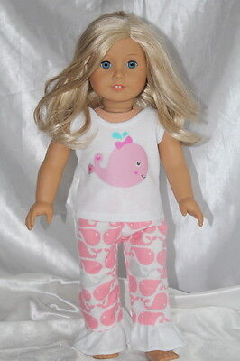 Doll Clothes fits 18inch American Girl Dress Pajamas Lot