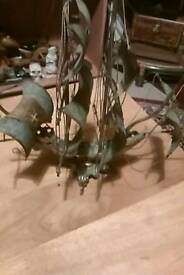 Metal sailing ship