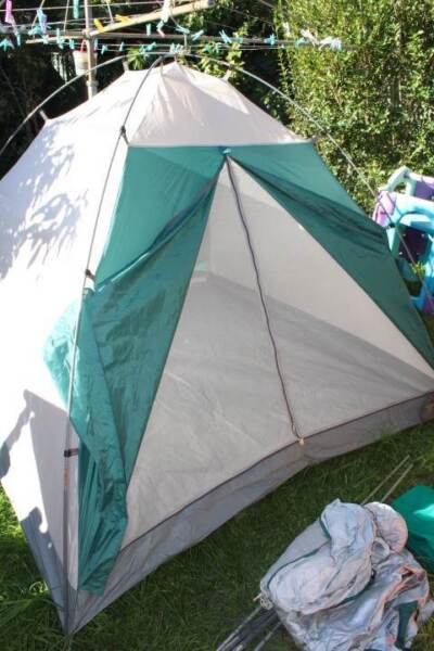 1 of 10 & TIMBERLINE REGAL 5 DOME TENT 4-5 PERSON CAMPING HIKING WATERPROOF ...