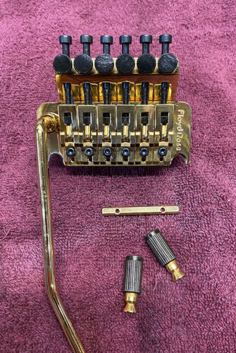 Original Floyd Rose Tremolo, Gold, Excellent Condition (80s?)