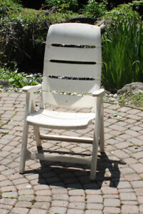Outdoor Patio or Deck Reclining Chair, hi end