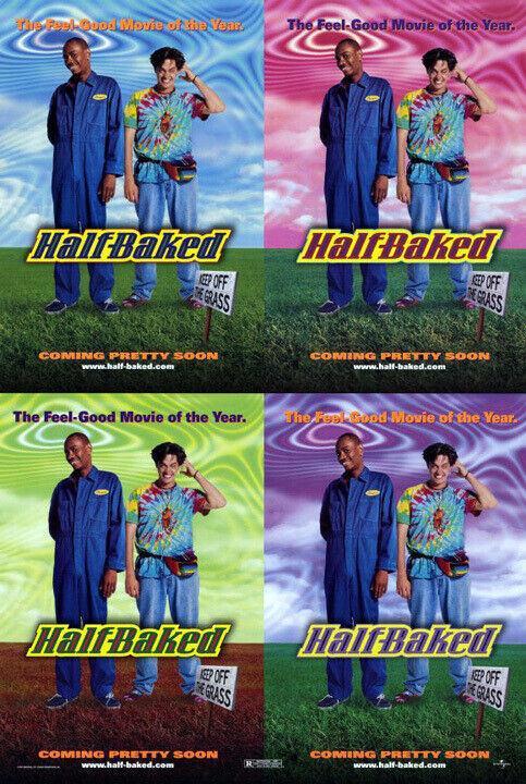 Half-Baked (1998) original movie poster - single-sided - rolled