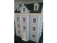 Dolls house with furniture (dolls house emporium) Very good condition, some lights also included.