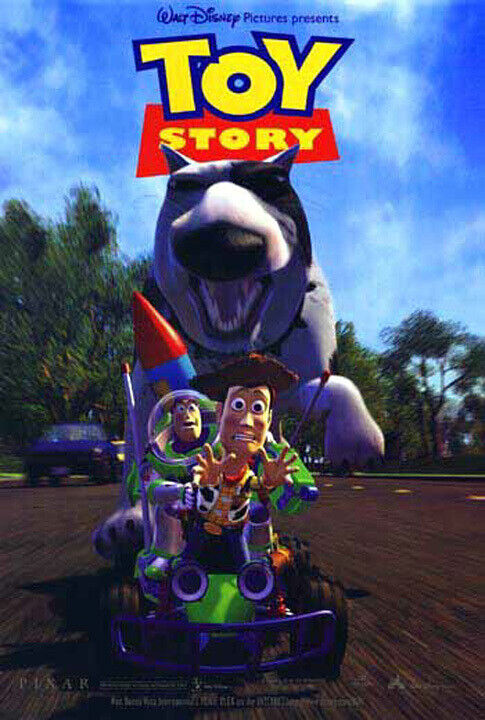 Toy Story (1995) Movie Poster International, Original, SS, Unused, NM/M, Rolled