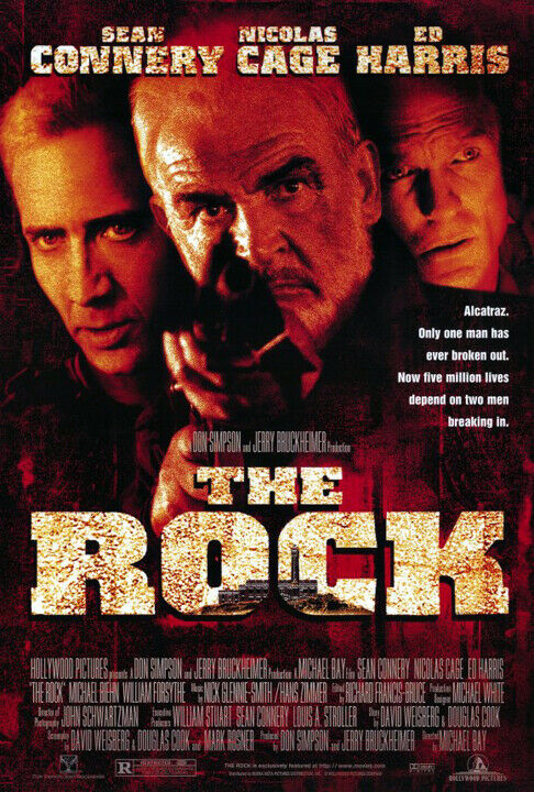 The Rock (1996) movie poster reproduction - single-sided - rolled